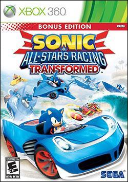 Sonic and All-Stars Racing Transformed (Xbox 360) by Sega Box Art