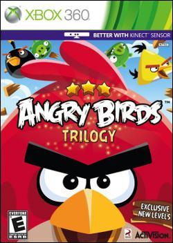 Angry Birds Trilogy (Xbox 360) by Activision Box Art