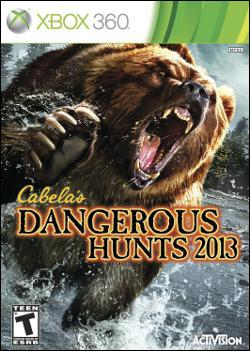 Cabela's Dangerous Hunts 2013 (Xbox 360) by Activision Box Art