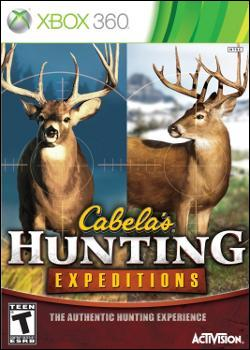 Cabela's Hunting Expeditions  (Xbox 360) by Activision Box Art