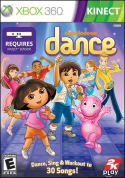 Nickelodeon Dance 2 (Xbox 360) by 2K Games Box Art