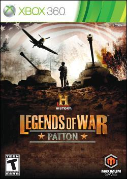 History:  Legends of War Patton (Xbox 360) by Microsoft Box Art