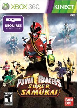 Power Rangers Super Samurai  (Xbox 360) by Namco Bandai Box Art