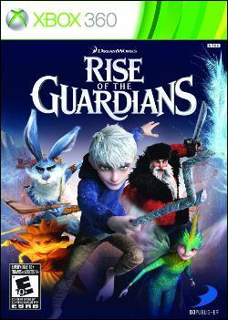 Rise of the Guardians: The Video Game (Xbox 360) by D3 Publisher Box Art