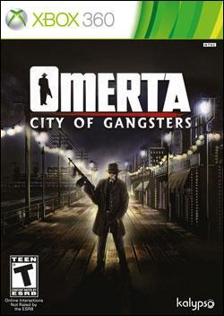 Omerta - City of Gangsters (Xbox 360) by Kalypso Media Digital, Ltd. Box Art