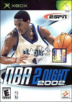ESPN NBA 2Night 2002 (Xbox) by Konami Box Art