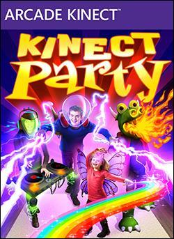 Kinect Party (Xbox 360 Arcade) by Microsoft Box Art