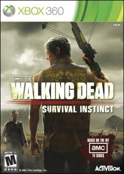 The Walking Dead: Survival Instinct (Xbox 360) by Activision Box Art