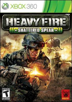 Heavy Fire: Shattered Spear (Xbox 360) by Microsoft Box Art