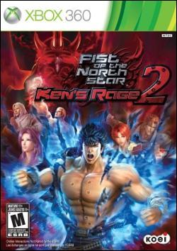 Fist of the North Star:  Ken's rage 2 (Xbox 360) by Tecmo Inc. Box Art