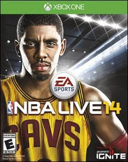 NBA Live 14 (Xbox One) by Electronic Arts Box Art