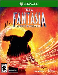Fantasia: Music Evolved (Xbox One) by Disney Interactive / Buena Vista Interactive Box Art