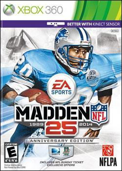Madden NFL 25 (Xbox 360) by Electronic Arts Box Art