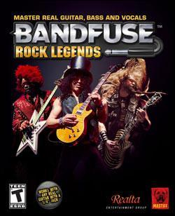 BandFuse: Rock Legends (Xbox 360) by Microsoft Box Art