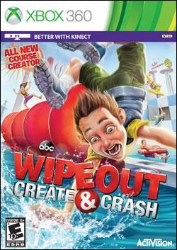 Wipeout: Create and Crash (Xbox 360) by Activision Box Art