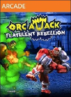 Orc Attack: Flatulent Rebellion (Xbox 360 Arcade) by Microsoft Box Art