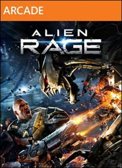 Alien Rage (Xbox 360 Arcade) by Microsoft Box Art