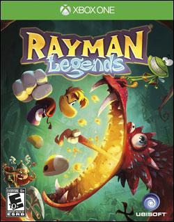 Rayman Legends (Xbox One) by Ubi Soft Entertainment Box Art