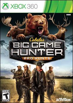 Cabelas: Big Game Hunter Pro Hunts (Xbox 360) by Activision Box Art