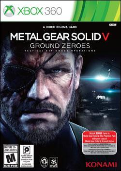 Metal Gear Solid V: Ground Zeroes (Xbox 360) by Konami Box Art