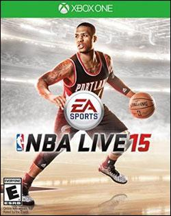 NBA Live 15 (Xbox One) by Electronic Arts Box Art