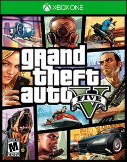 Grand Theft Auto V (Xbox One) by Rockstar Games Box Art