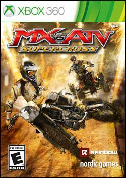 MX vs. ATV Supercross Box art