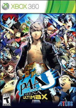 Persona 4 Arena Ultimax (Xbox 360) by Atlus USA Box Art