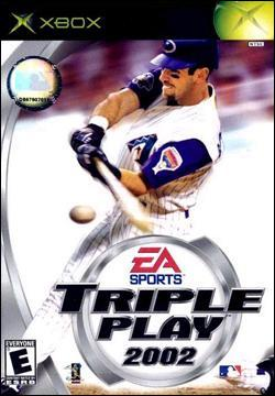 Triple Play 2002 (Xbox) by Electronic Arts Box Art