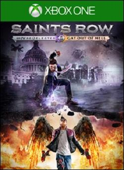 Saints Row IV: Re-Elected Gat Out Of Hell Edition (Xbox One) by Deep Silver Box Art