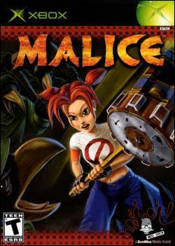 Malice (Xbox) by Vivendi Universal Games Box Art
