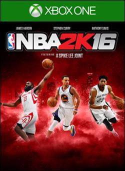 NBA 2K16 (Xbox One) by Take-Two Interactive Software Box Art