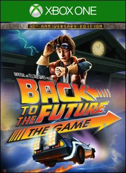 Back to the Future: The Game (Xbox One) by Telltale Games Box Art
