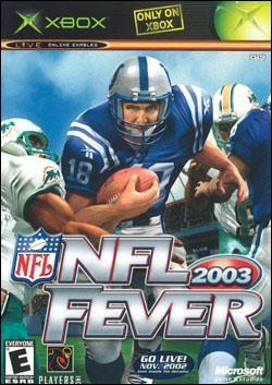 NFL Fever 2003 (Xbox) by Microsoft Box Art