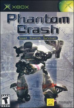 Phantom Crash (Xbox) by Encore Software Box Art
