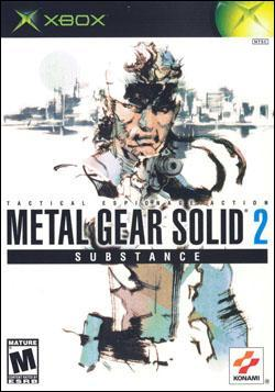 Metal Gear Solid 2: Substance (Xbox) by Konami Box Art