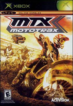 MTX: Mototrax (Xbox) by Activision Box Art