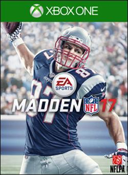 Madden 17 (Xbox One) by Electronic Arts Box Art