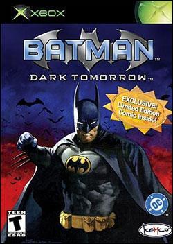 Batman: Dark Tomorrow (Xbox) by Kemco Box Art