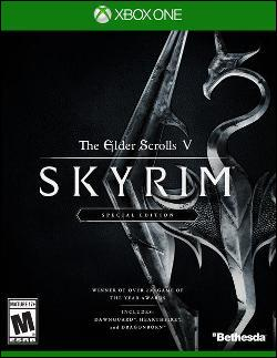 Elder Scrolls V: Skyrim Special Edition, The (Xbox One) by Bethesda Softworks Box Art