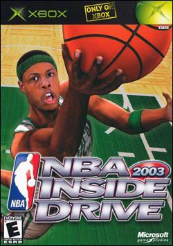 NBA Inside Drive 2003 (Xbox) by Microsoft Box Art
