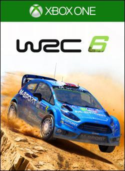 WRC 6 (Xbox One) by Microsoft Box Art