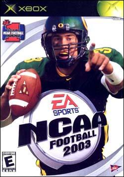 NCAA Football 2003 Box art