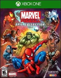 Marvel Pinball Epic Collection Vol. 1 (Xbox One) by Microsoft Box Art