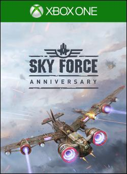 Sky Force Anniversary (Xbox One) by Microsoft Box Art