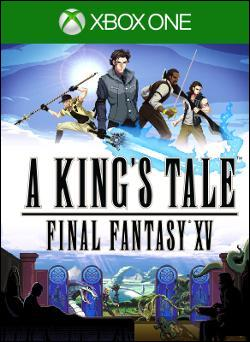 A King's Tale: Final Fantasy XV (Xbox One) by Square Enix Box Art