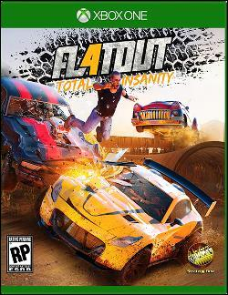 FlatOut 4: Total Insanity (Xbox One) by Microsoft Box Art