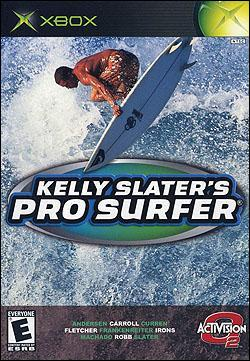 Kelly Slater's Pro Surfer (Xbox) by Activision Box Art