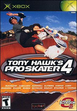 Tony Hawk Pro Skater 4 (Xbox) by Activision Box Art