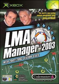 LMA Manager 2003 (Xbox) by Codemasters Box Art